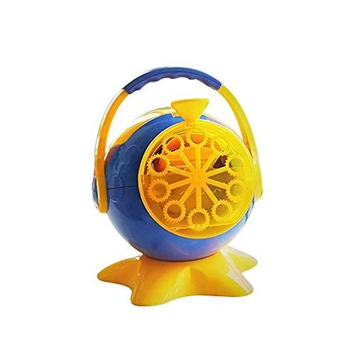 Bubble Machine Maker Automatic Battery Powered Party Bubble Machine Outdoor Indoor Toy for Kids, Orange Child (Color : Orange, Size : BM01)