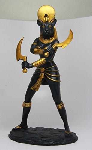 Ebros Classical Egyptian Sun Goddess Sekhmet Statue 11 H Warrior Huntress Lioness Sachmis Decor Figurine Sculpture