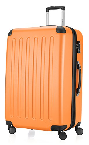 28' Spinner (HAUPTSTADTKOFFER Spree Luggage Suitcase Hardside Spinner Trolley Expandable 28¡° TSA Orange)