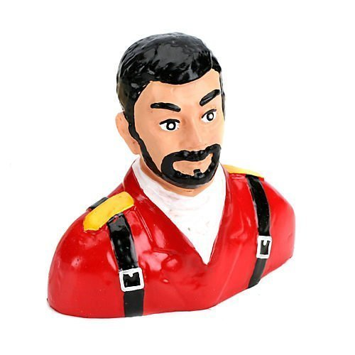 1/5 Pilot, Civilian with Beard (Red) by Hangar 9