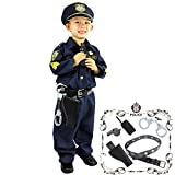 Joyin Toy Deluxe Police Officer Costume and Role Play Kit (S 4-6)