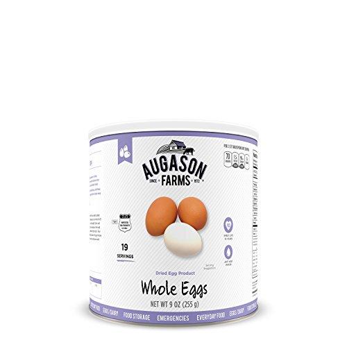 Augason Farms Whole Egg 9 oz #2.5 Can