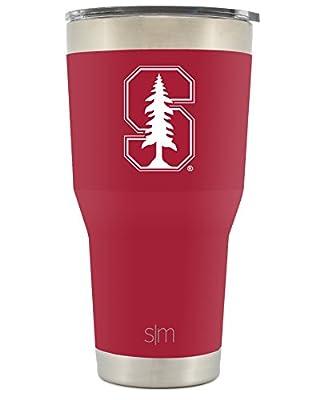 Simple Modern Collegiate Cruiser Tumblers - Vacuum Insulated 18/8 Stainless Steel Travel Mug - Coffee Cup Tailgate Flask