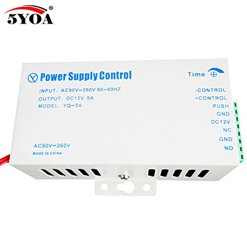 Security & Protection Dc12v Door Access Control System Switch Power Supply For Rfid Fingerprint Access Control Device On Sale