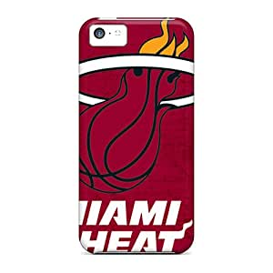 New Arrival Cases Specially Design For Iphone 5c (miami Heat)