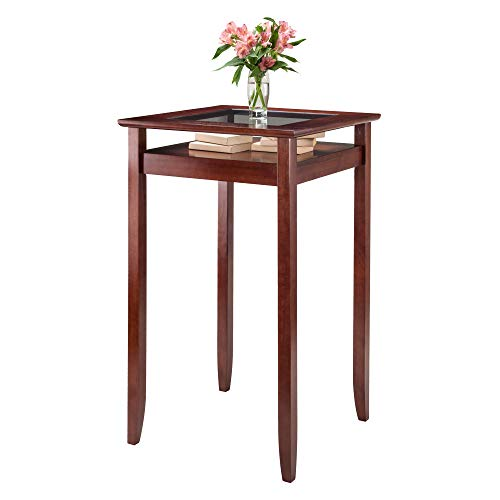 Winsome Wood 94127 Halo Dining Walnut