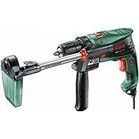 Bosch Schlagbohrmaschine EasyImpact 550 DA (Bohrassistent, Zusatzhandgriff, Tiefenanschlag, Koffer, 550 Watt)