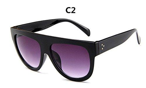 gafas mujer ZHANGYUSEN de Gran gafas sol Vintage la lujo Full Mujer de sol C2 marca Frame de gafas C6 de Diseño Gafas nrwqrxzYp