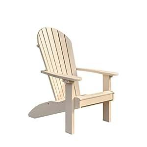 Poly Adirondack Chair (Ivory)