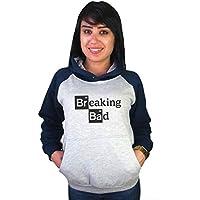 Moletom Canguru Feminino Raglan Breaking Bad ER_045