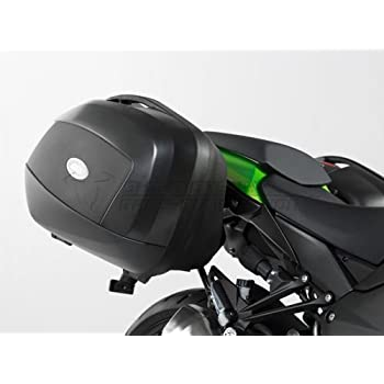 SW-MOTECH Quick-Lock EVO Profile Sidecarriers To Fit Givi V35 PLX Sidecases For Kawasaki Ninja 1000 11-15