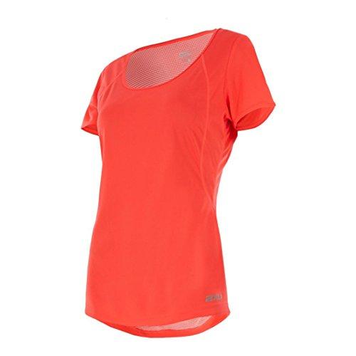 Fiery para Camiseta Coral X mujer x 2 silver wind PYwExSzFWq