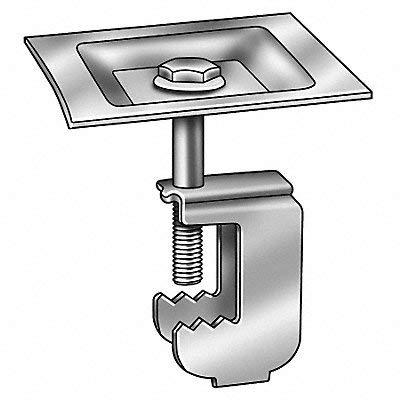 Grating Clip G-Clip 1 1/2 H PK50 by GRAINGER APPROVED