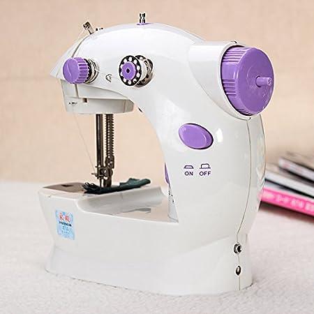 Amazon.com : Portable Home Handwork Electric Mini Sewing Machine With Led Light // Trabajo hecho a mano portátil de casa Mini eléctrico de la máquina de ...