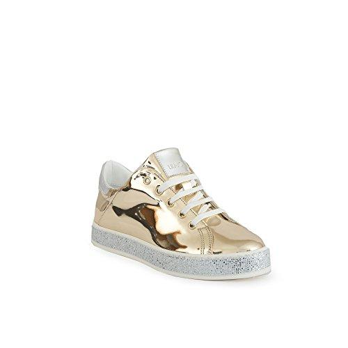 B18031p0231 Estate Nuova colore Sneakers Fondo Applicazioni Jo A Cassetta a3938 Primavera Liu Gold Strass Collezone 2018 Con Silver Di agyness UZCwxq