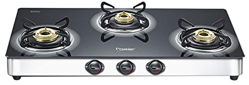 Prestige Royale Plus Stainless Steel 3 Burner Gas Stove