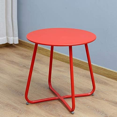 Super Ay yu Salontafel, kleine ruimte bijzettafel, outdoor bijzettafel, kleine ronde tafel, kastframe lo F  b5InCJY