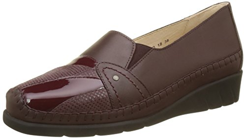 Burgundy Red Emantine Luxat Women's Loafers faRfBq