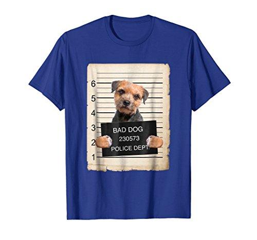 Border Terrier Dog mug shot Shirt ()