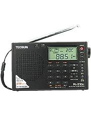 Allnice Black TECSUN PL-310ET FM-Stereo / SW / MW / LW DSP ETM Radio World Band Receiver