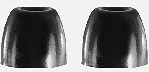 Shure EABKF1-100L Black Foam Sleeves Eartips for SE Series, Bulk 100 Pack (50 Pairs) Large ()