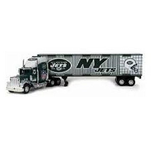 NFL Officially Licensed 2005 1:80 Scale Limited Edition Serially Numbered Tractor Trailer (2005 Nfl Peterbilt Tractor Trailer)