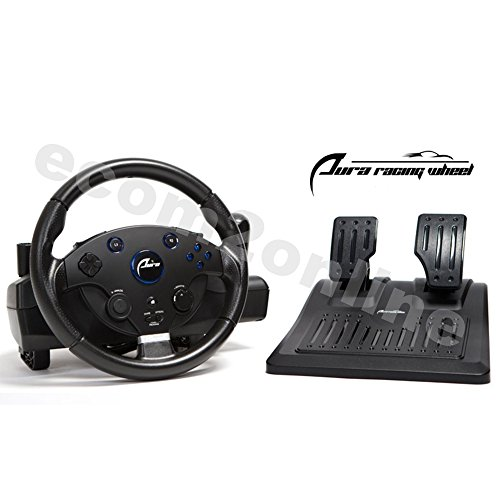 AURA Racing Wheel For PS3, PS4, PC, XBOX ONE, XBOX360 (Euro Steering Wheel)