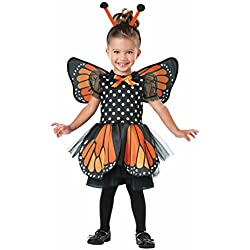 Beautiful Butterfly Pretend Play Costume, Orange