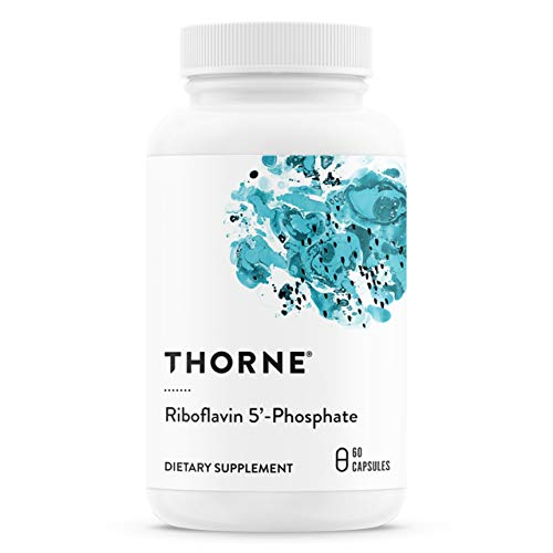 Thorne Research – Riboflavin 5′-Phosphate – Bioactive Form of Vitamin B2 for Methylation Support – 60 Capsules