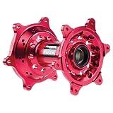 Tusk Impact Billet REAR Wheel Hub- RED - HONDA CRF250R CRF450R 2013-2017