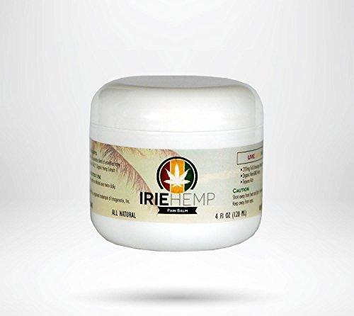 Irie Hemp Pain Balm - 200mg Hemp Extract - 4oz