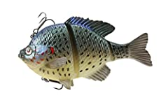 Savage Gear BSS-125-RE line thru. Bluegill 5 inch slow sink redear. This product is manufactured in China.Plastic misc.