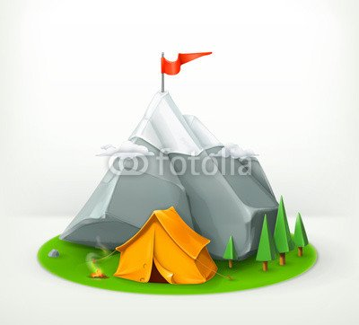 adrium A Journey To The Mountains, Vector Icon (75914842), Forex ...