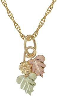 product image for 10k Black Hills Gold Pendant with Grapes on Vine