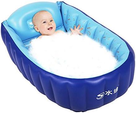 Cyhione Bañera Hinchable Bañera para Bebés Portátil Portable ...
