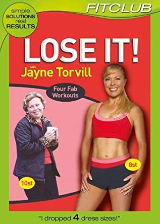 Lose It With Jayne Torvill Dvd Amazon Co Uk Dvd Blu Ray