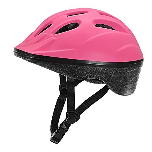TurboSke Child Helmet, Kid's Multi-Sport Helmet (Pink)