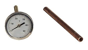 ALFARERIA DUERO Temperatura para HORNOS DE LEÑA Y COCINAS DE LEÑA 20CM