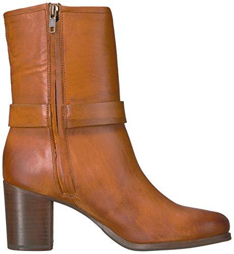 Frye Womens Addie Harness Mid Boot Marrone Pelle Vintage Liscia