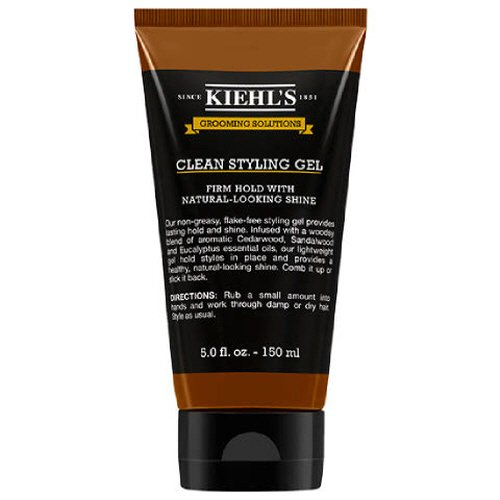 Styling Solution (Kie Grooming Solutions Clean Hold Hair Styling Gel for Men 5 fl.oz 150 ml Firm Hold)
