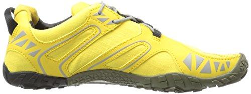 Vibram Women's V Trail Runner, Yellow/Black, 37 EU/6.5 M US by Vibram (Image #7)
