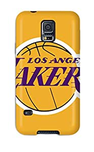 Dolores Phan's Shop Hot 7546235K470744235 basketball nba los angeles lakers NBA Sports & Colleges colorful Samsung Galaxy S5 cases