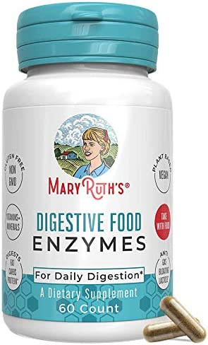 Digestive Enzymes Certified Tested MaryRuth product image