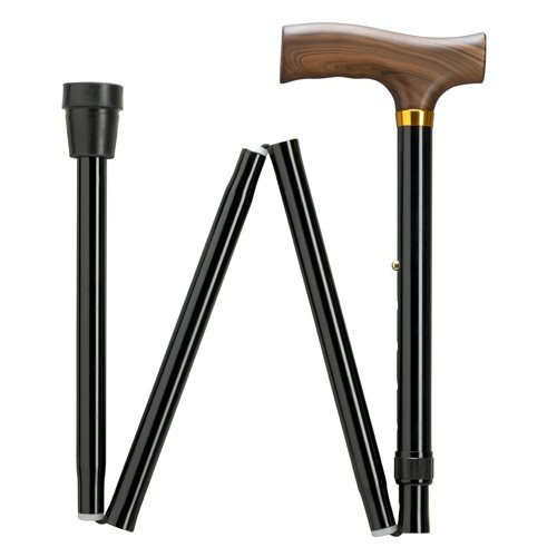 Extra Short Folding Walking Cane adjustable in 1