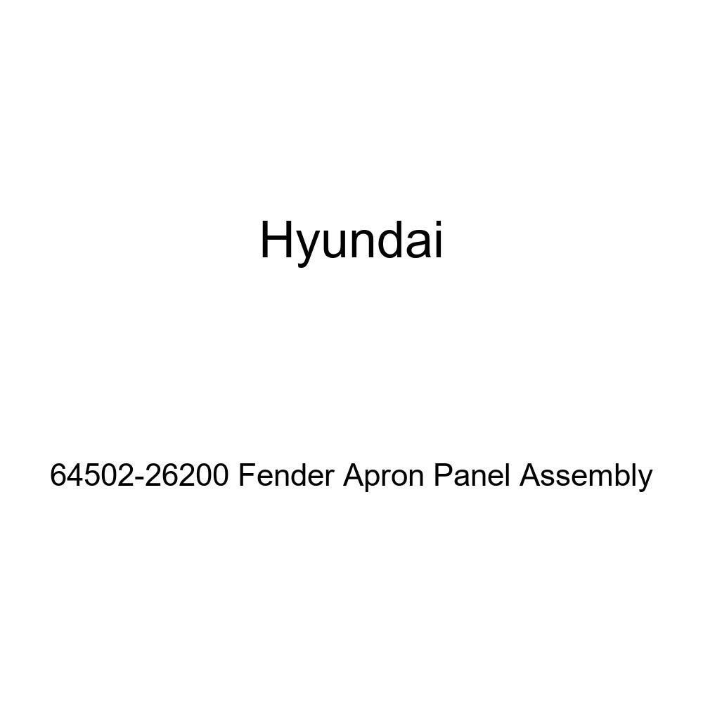 Genuine Hyundai 64502-26200 Fender Apron Panel Assembly
