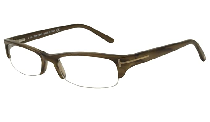 874a6e3c17 Image Unavailable. Image not available for. Color  Tom Ford Rx Eyeglasses -  TF5122 Brown Horn 52mm   Frame ...