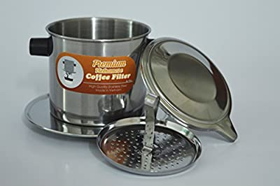 Vietnamese Coffee Filter Set. Also known as a Vietnamese Coffee Maker or Press Extra Large