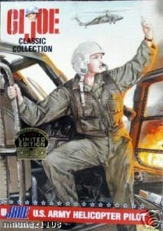 G.I. Joe - Classic Collection - G.I. Jane U.S. Army Helicopter Pilot - 1997 Limited Edition - Mint - Collectible - (PR)