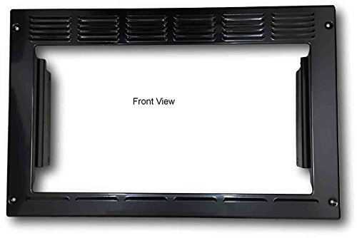 Advent PMWTRIM Trim Kit for MW900B and MW912B Black Built-in Microwave Oven, Black, Outside Dimensions: 23.25W x 15H x 2.75D in. Inside Opening: 19W x 10.5H in. Box: 24 x 15.25 x 3.25 in. (24 Built In Microwave Oven With Trim Kit)