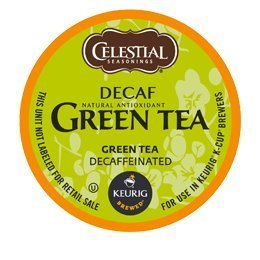 DECAF GREEN TEA K CUP 120 COUNT by Celestial Seasonings